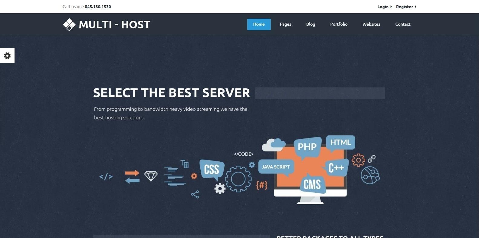 multihost-hosting-website-template