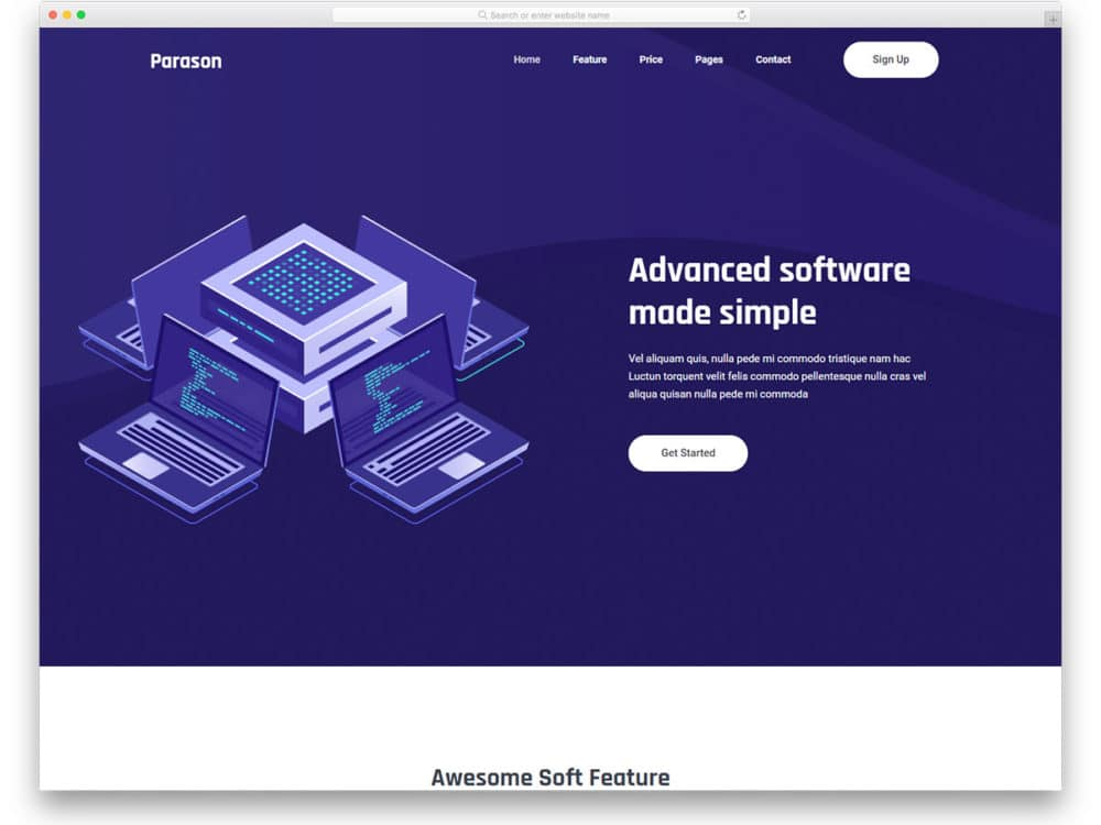 24 Free Hosting Website Templates To Attract Website Owners 2019