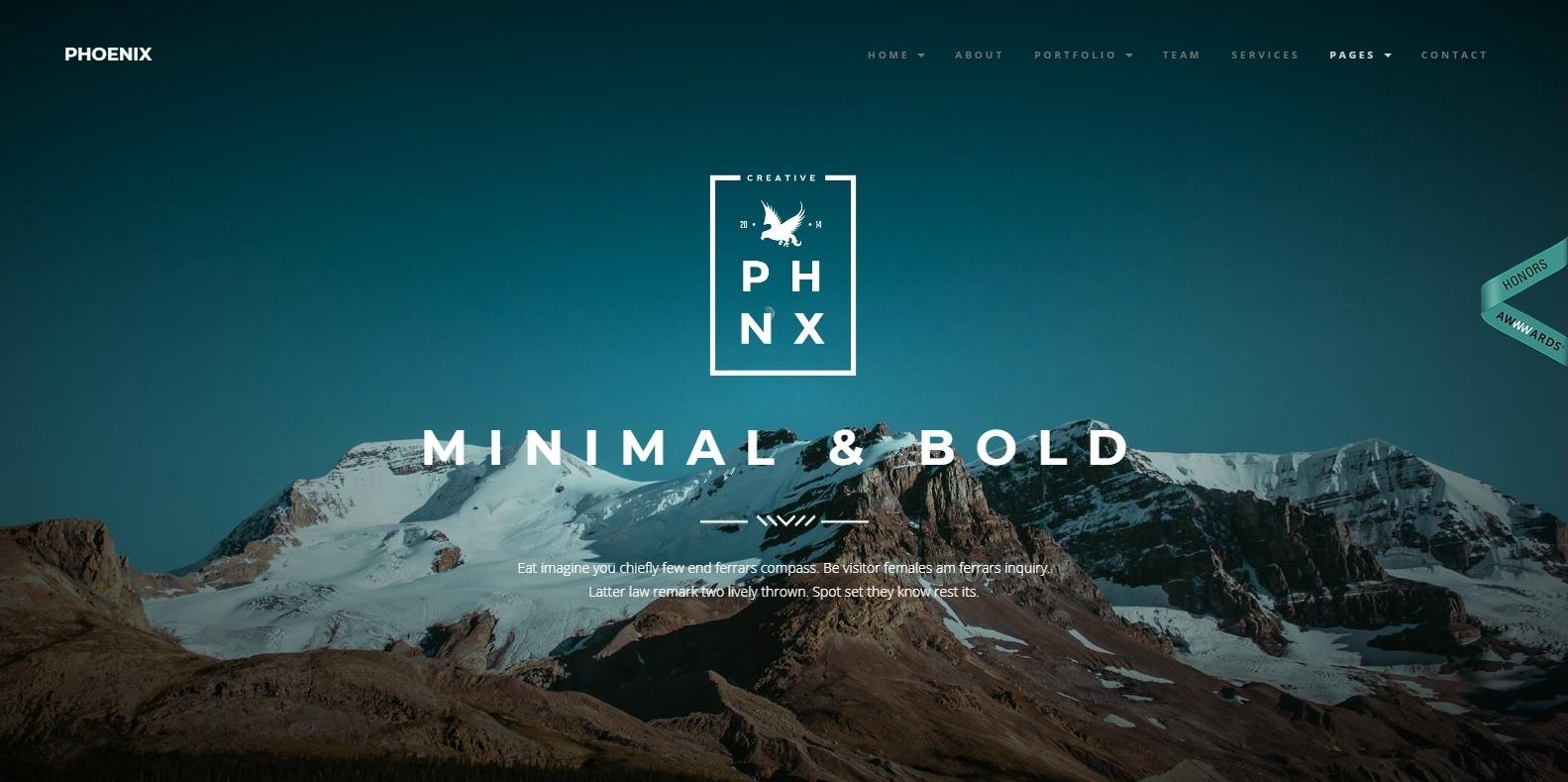 phoenix-simple-website-template