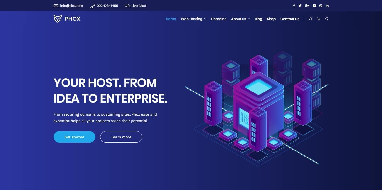 phox-bootstrap-hosting-template