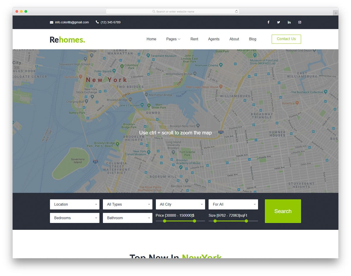 rehomes-free-real-estate-website-templates
