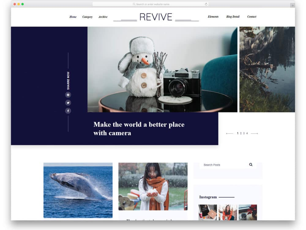 revive-free-bootstrap-blog-templates