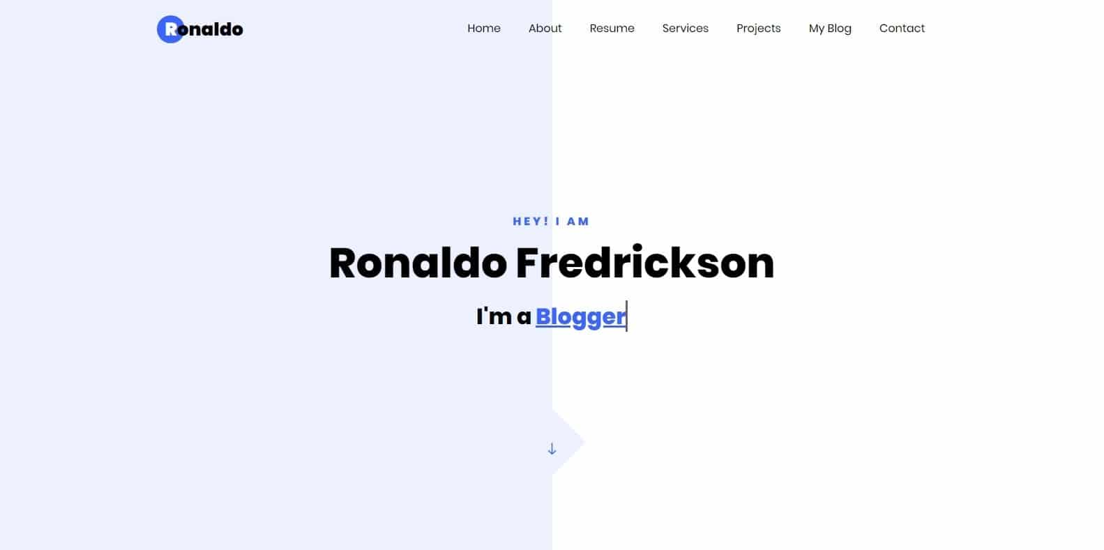 ronaldo-simple-website-template