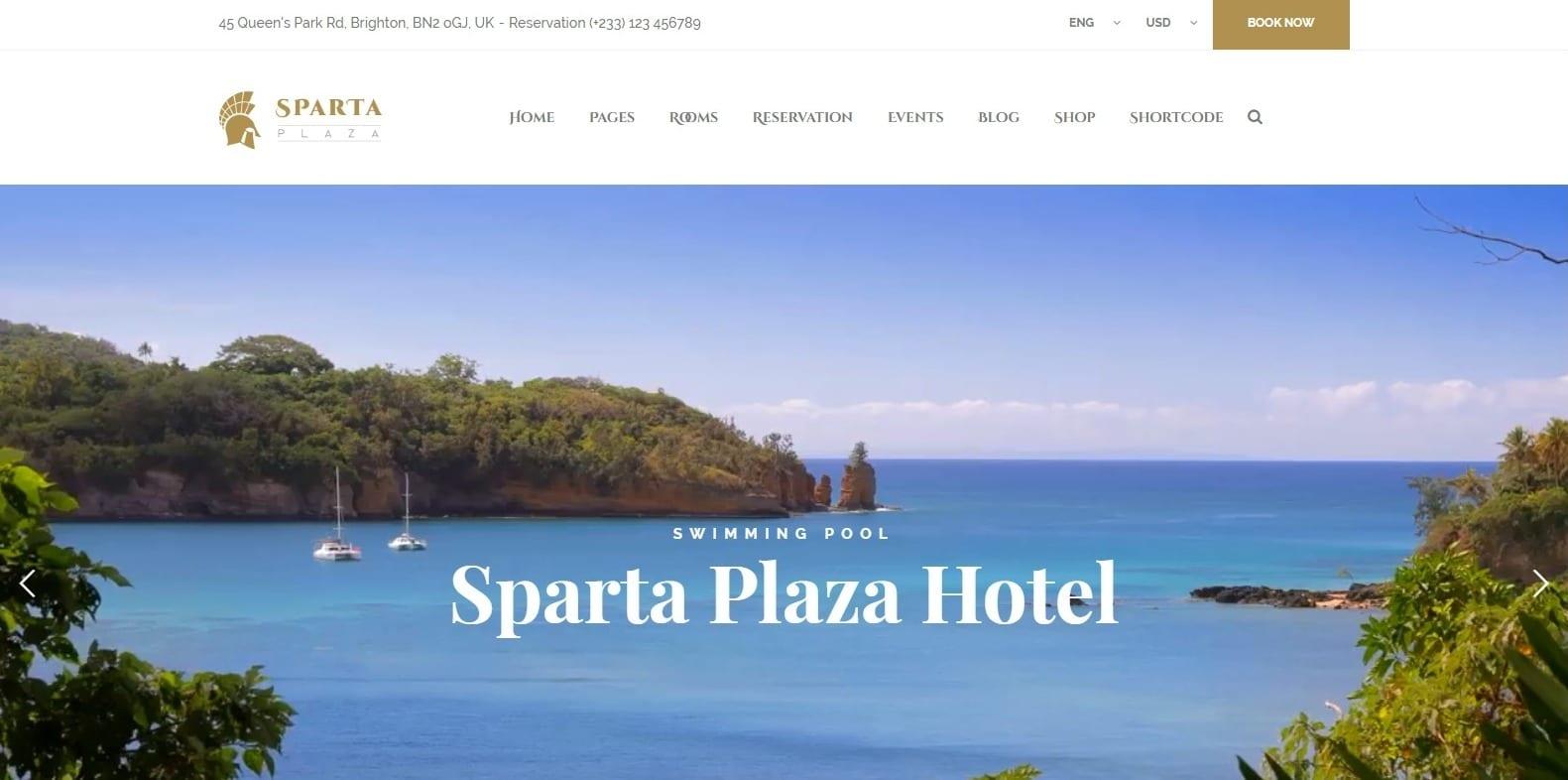 sparta-hotel-template