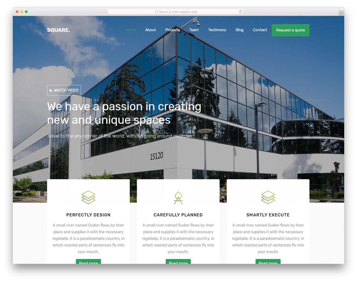 square-free-bootstrap-business-templates