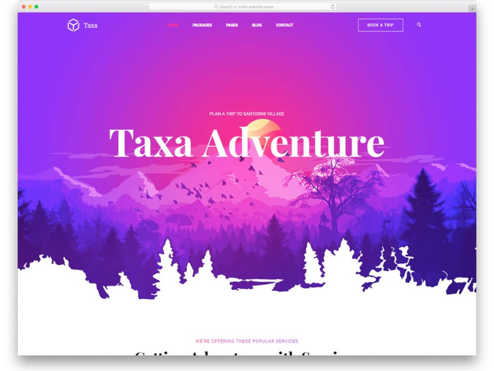 taxa-free-travel-agency-website-templates