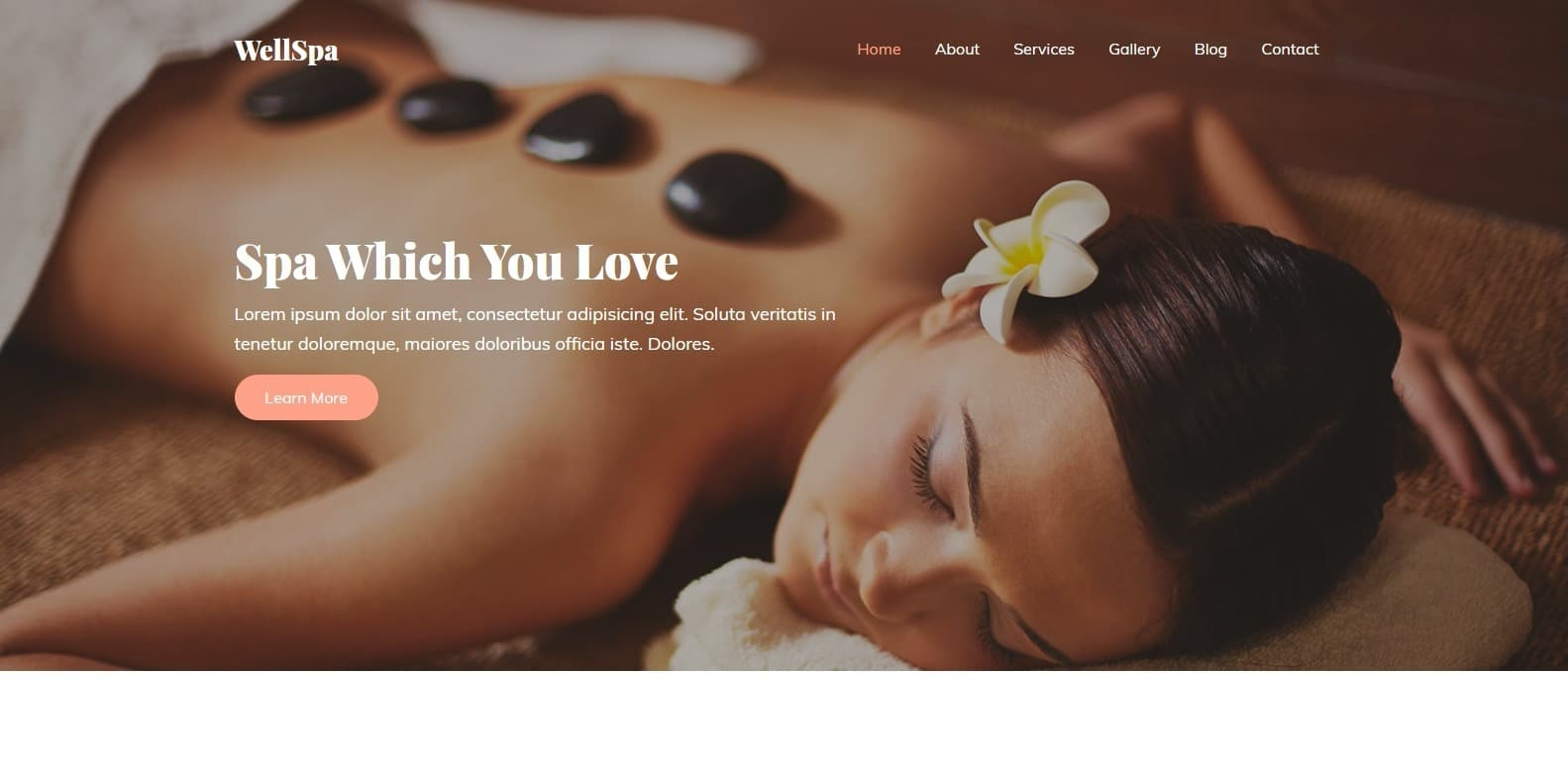 wellspa-spa-website-template