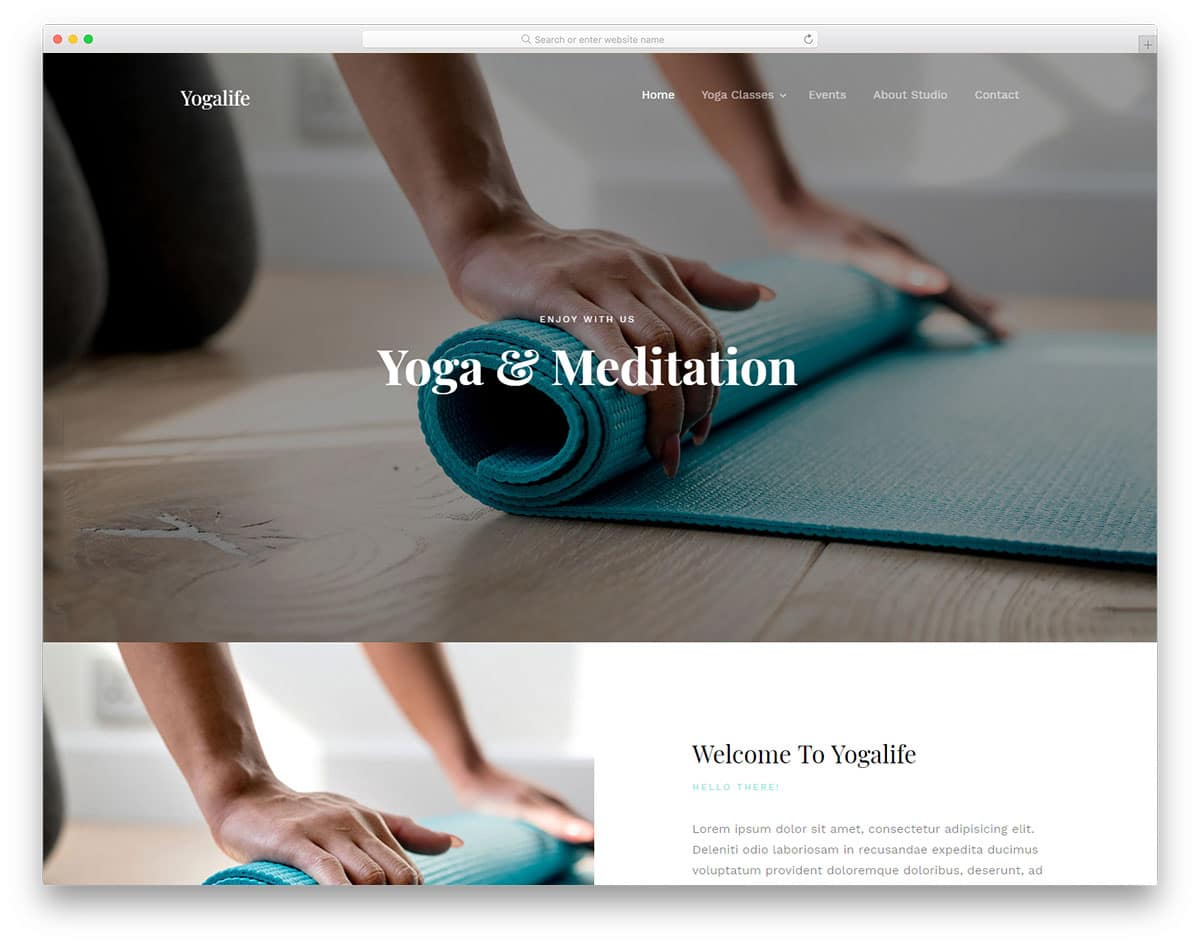 yogalife-free-yoga-website-templates