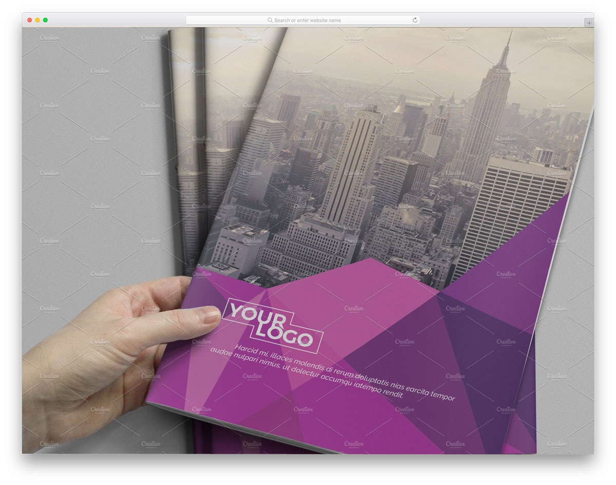 Abstract-Bifold-Brochure