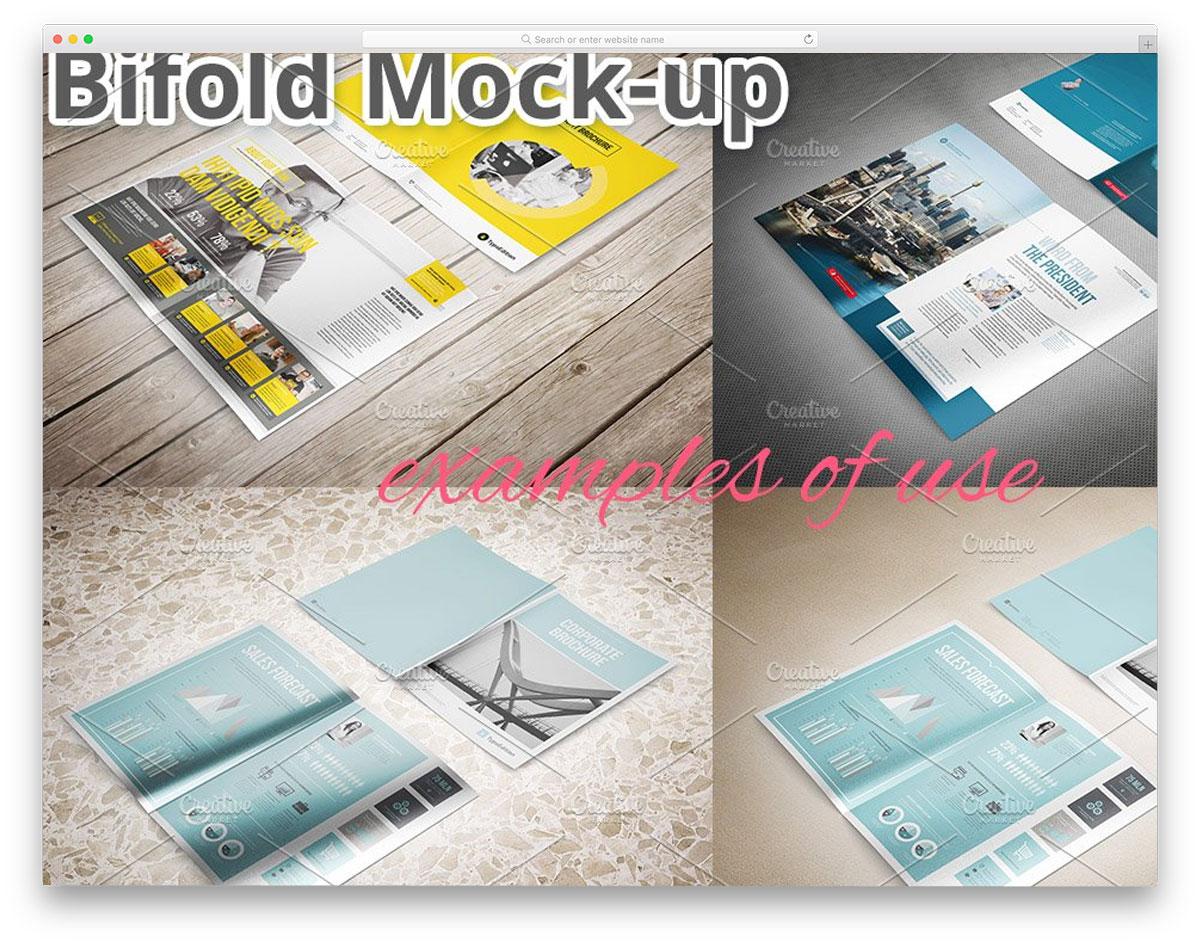 Bifold-Brochure-Mockup