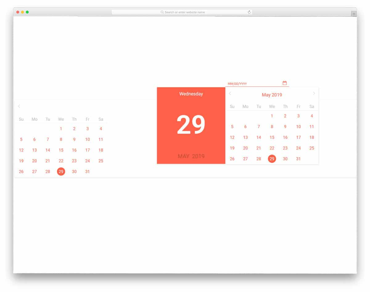 20 Bootstrap Datepicker Examples For All Types Of Forms And Websites