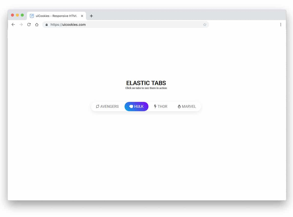 Bootstrap Tabs Codepen