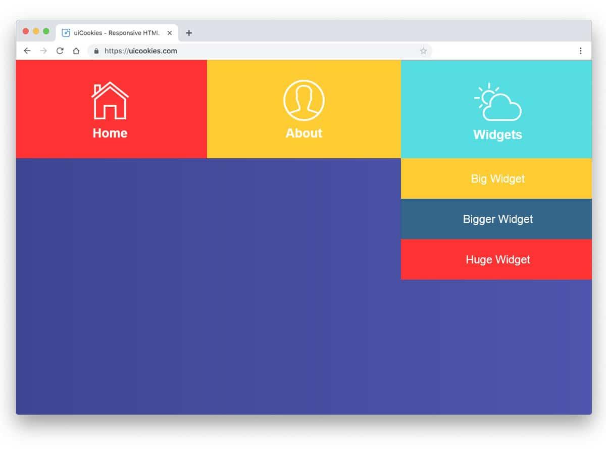 colorfl icon rich menu design