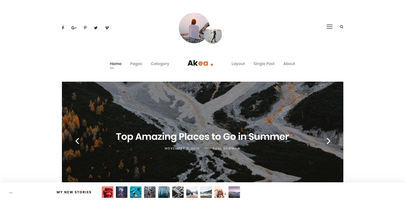 akea-author-website-templates