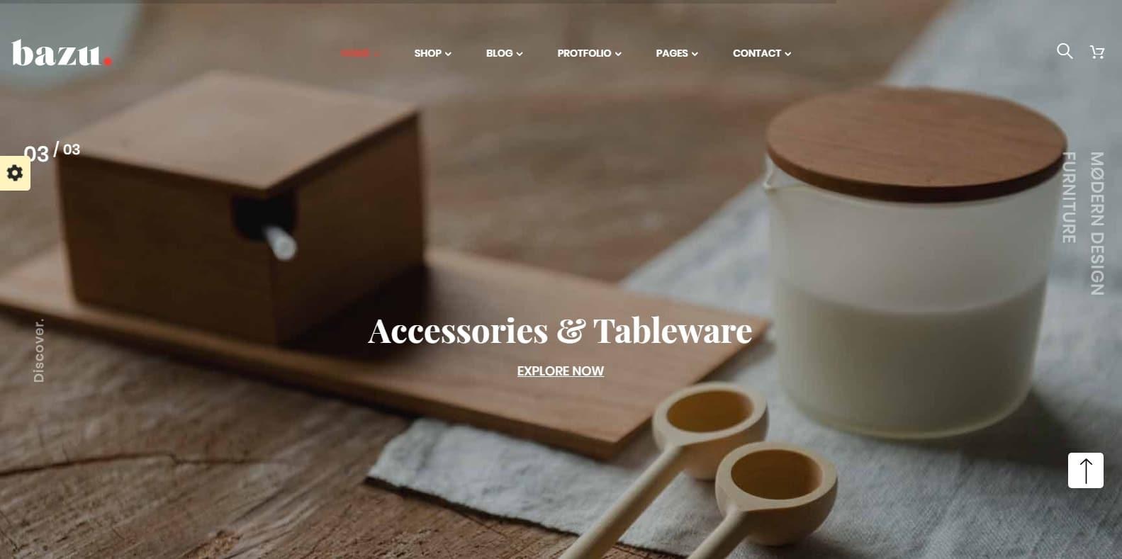 bazu-bookstore-website-template
