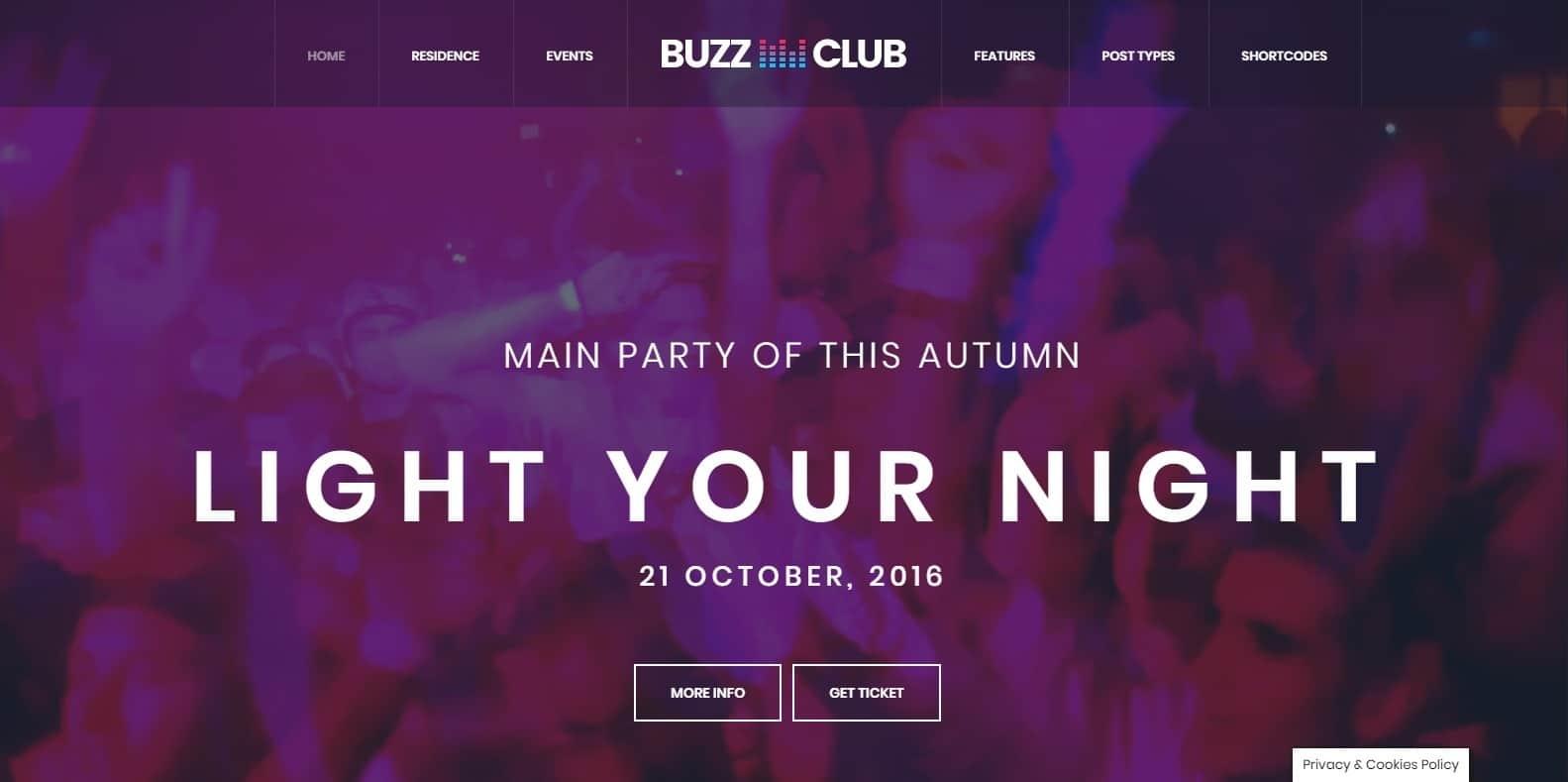 bizzclub-dj-website-template