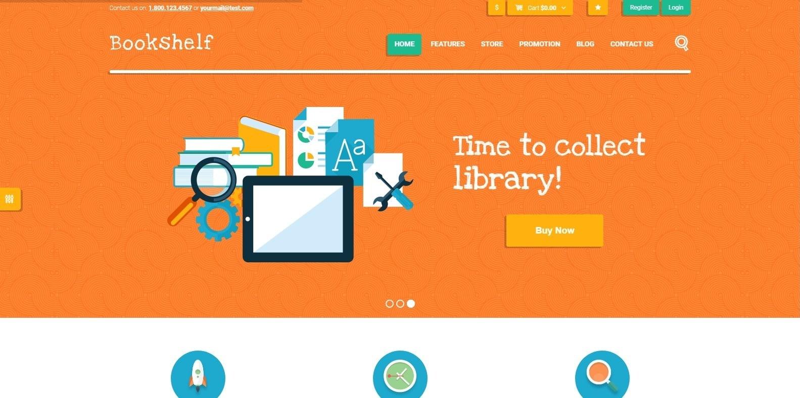 bookshelf-html-bookstore-website-template