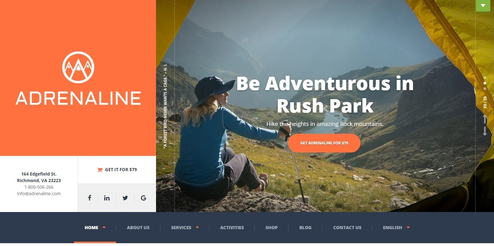 extreme-sports-website-template