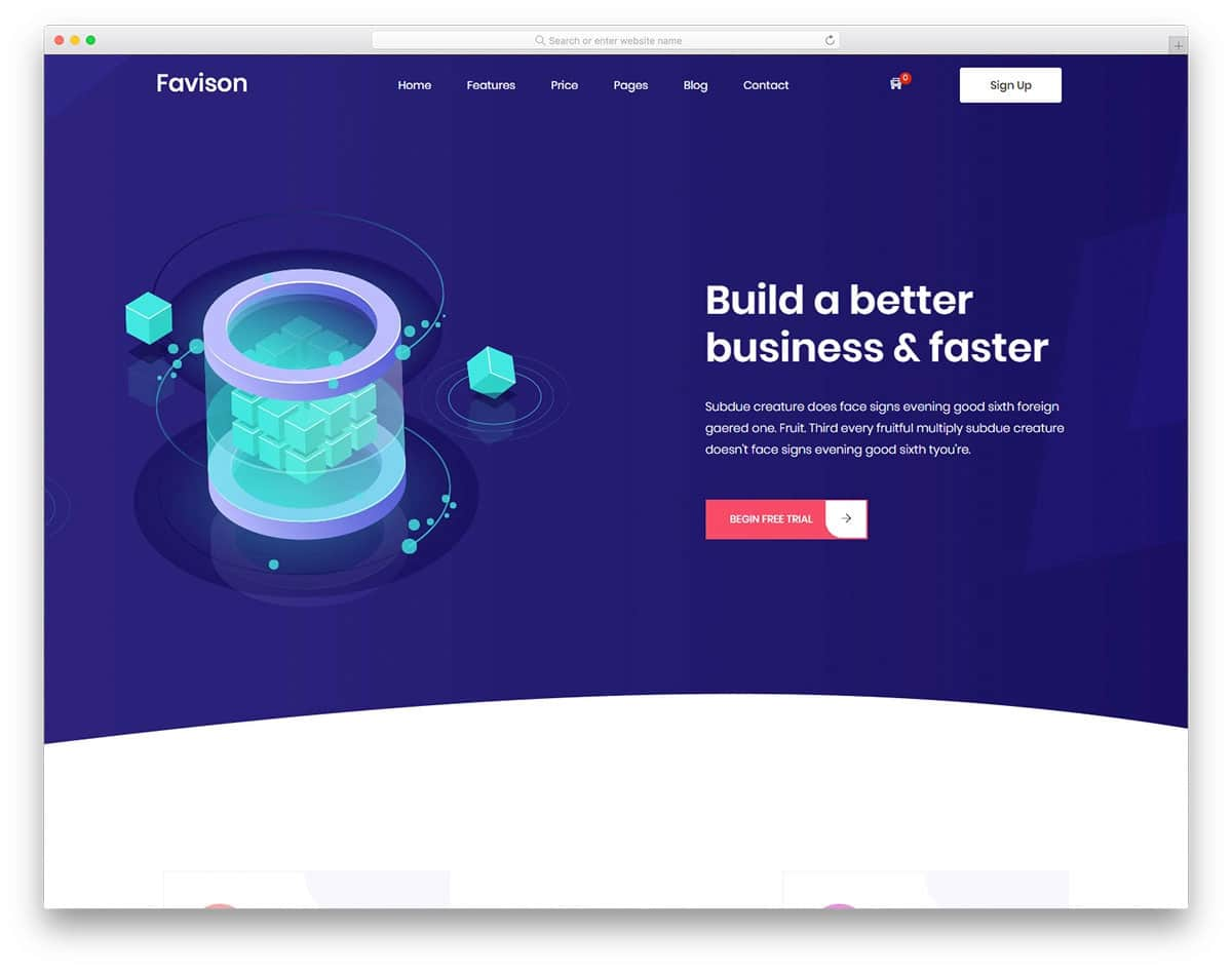 bootstrap header with curved design
