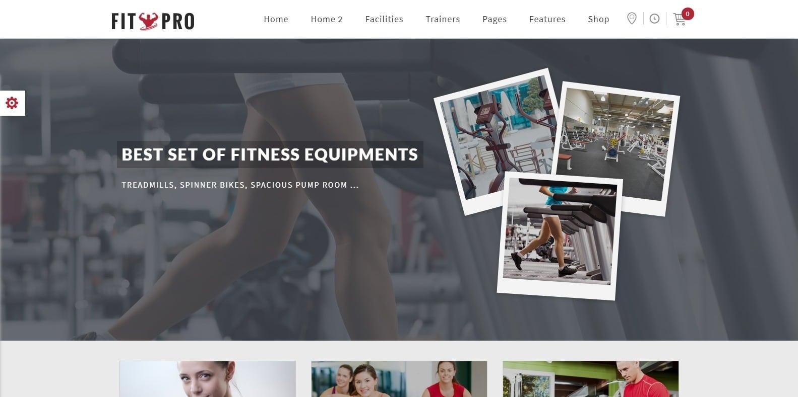 fitpro-sports-website-template