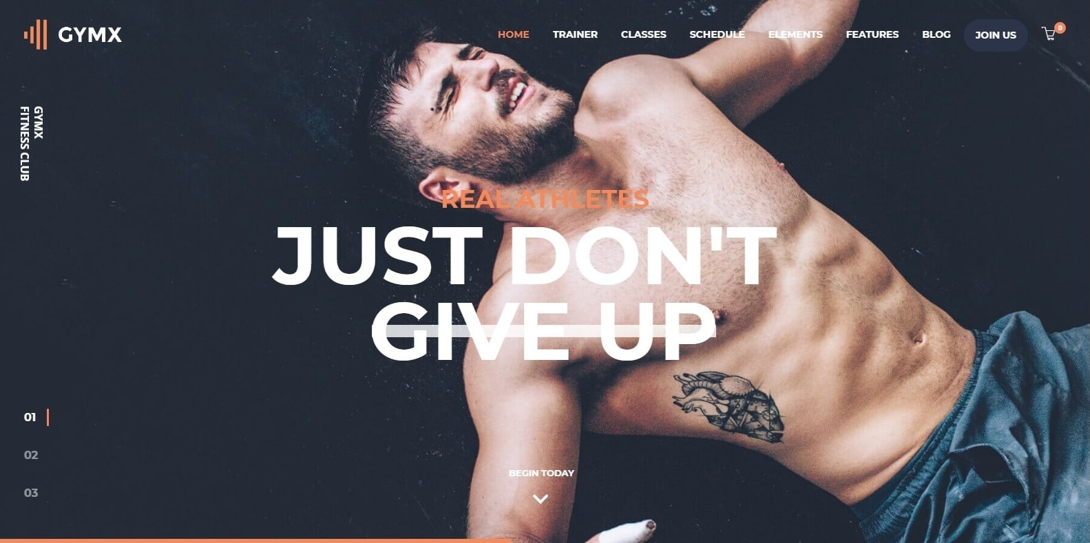 gymx-sports-website-template
