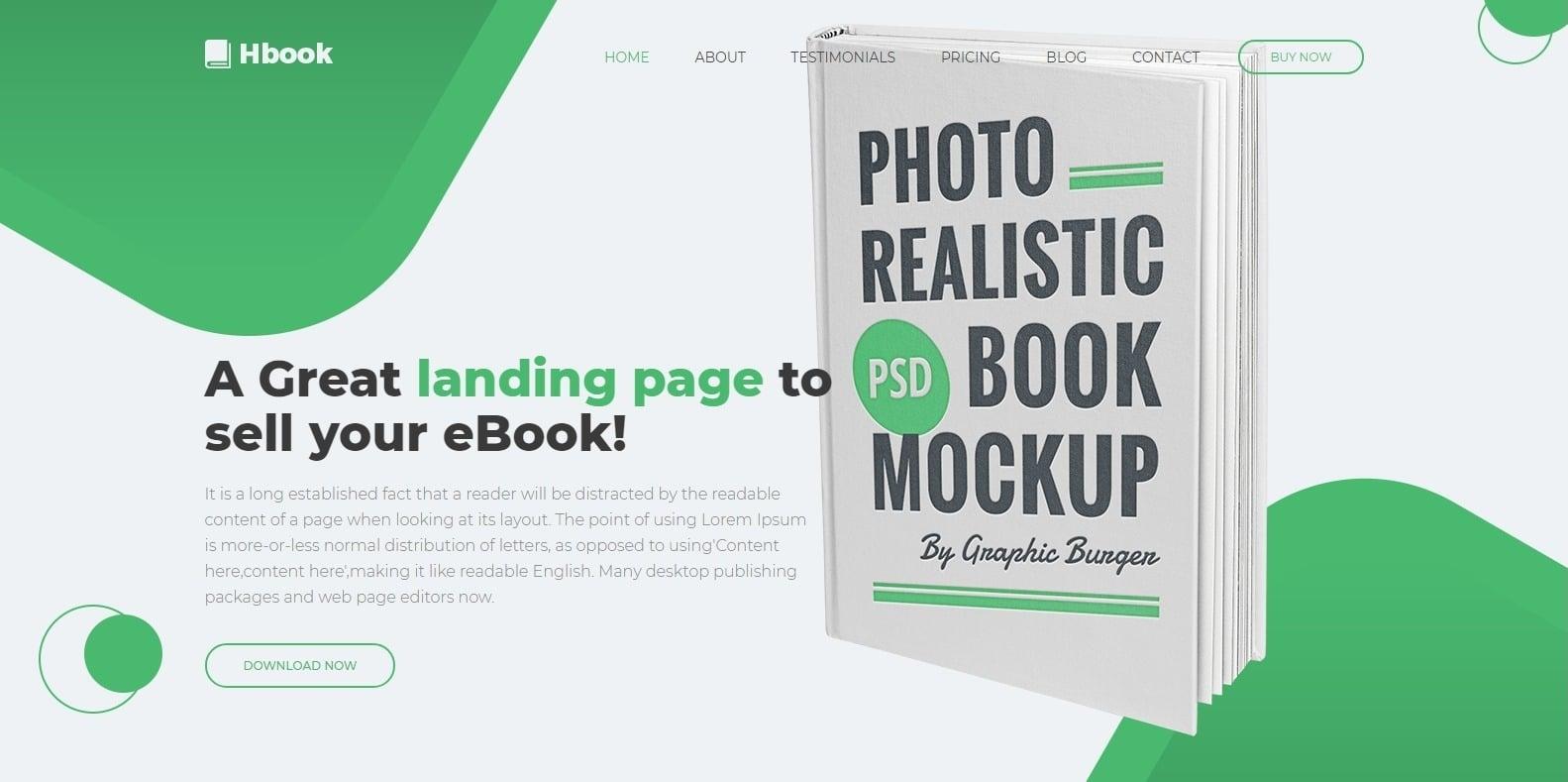 hbook-html-bookstore-website-template