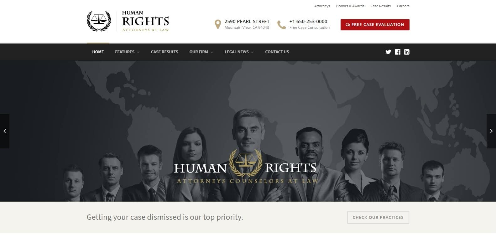 human-rights-attorney-website-template