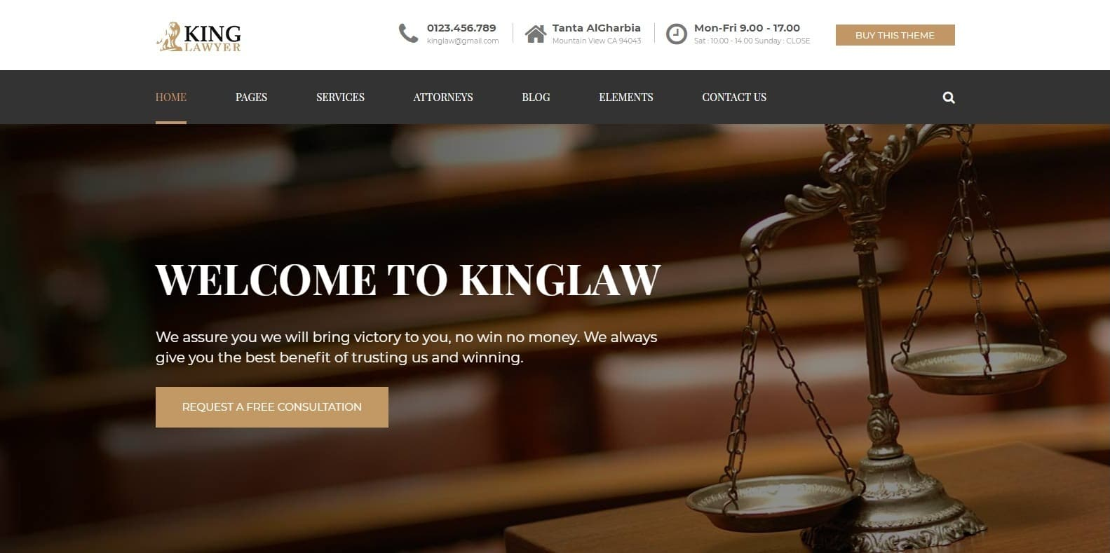 kingslaw-attorney-website-template