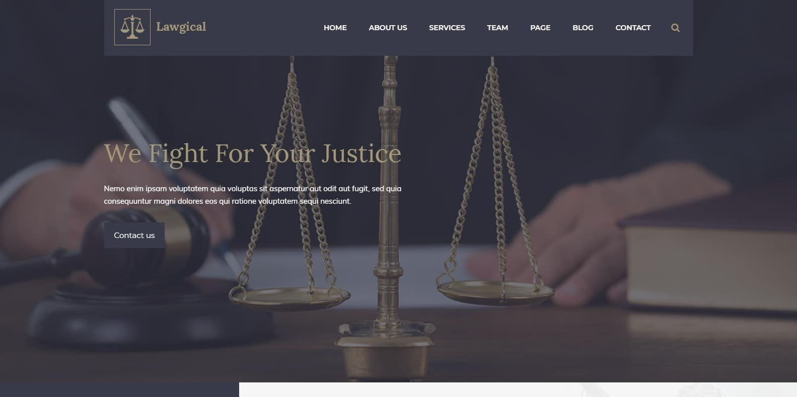 lawgical-attorney-website-template