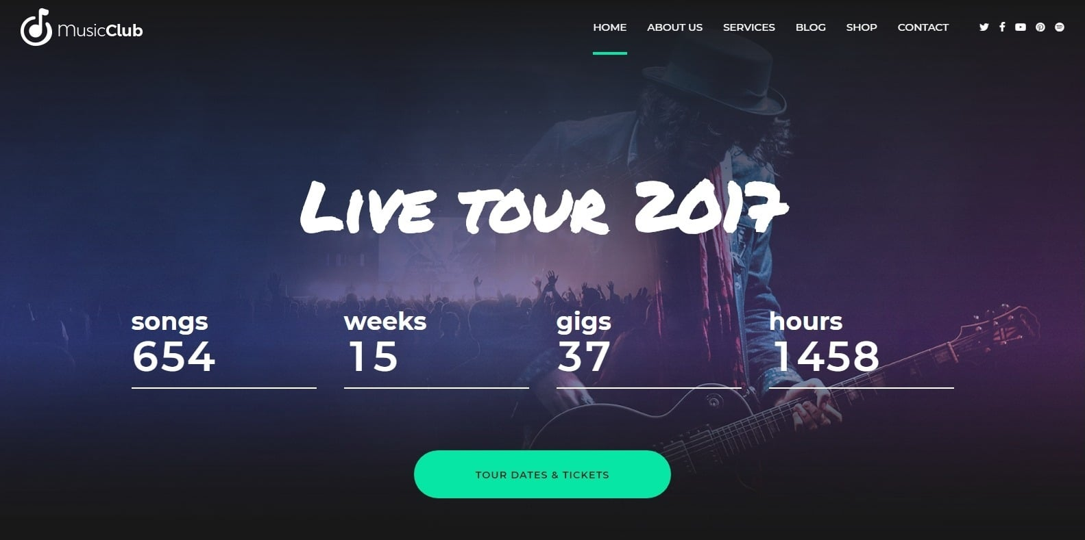 music-club-dj-website-template