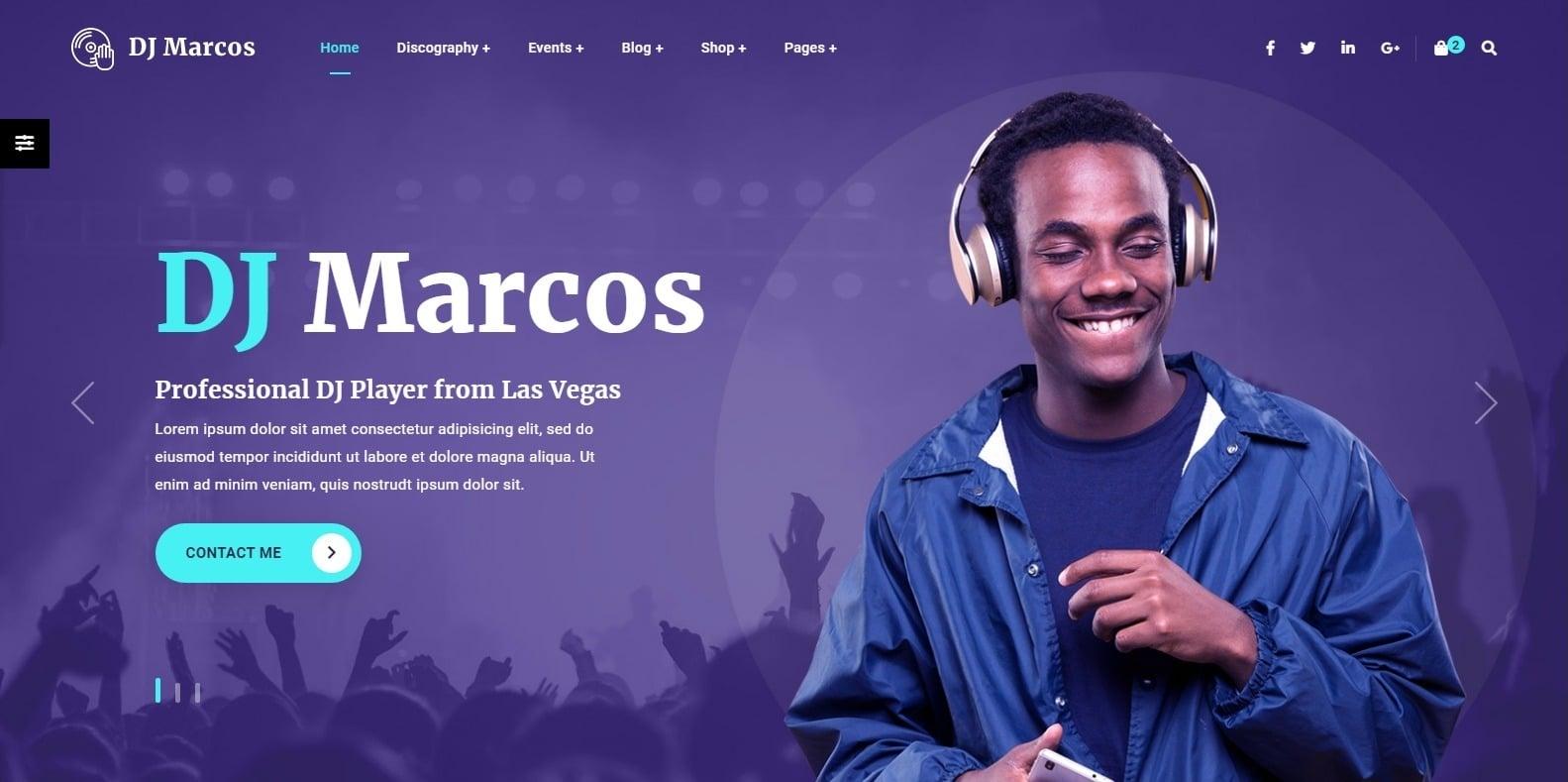 musiziya-dj-website-template