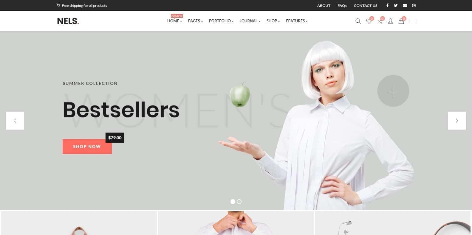 nels-html-bookstore-website-template