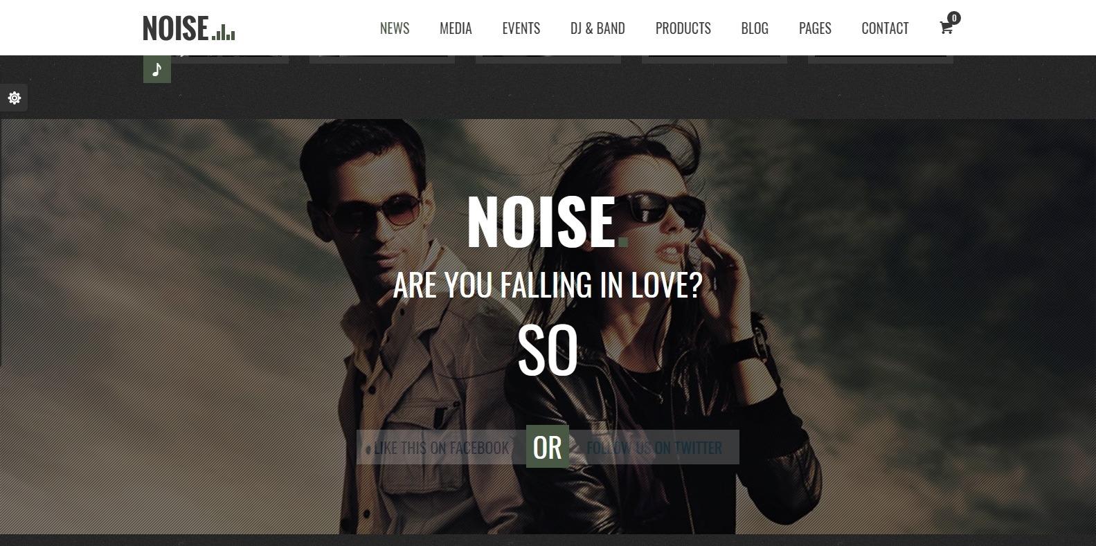 noise-dj-website-template