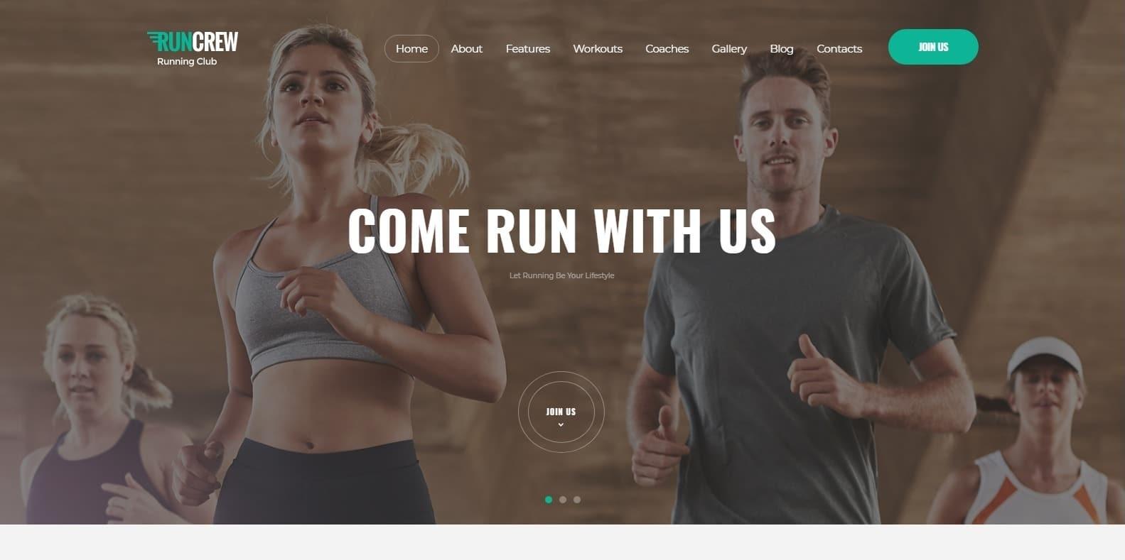 run-crew-sports-website-template