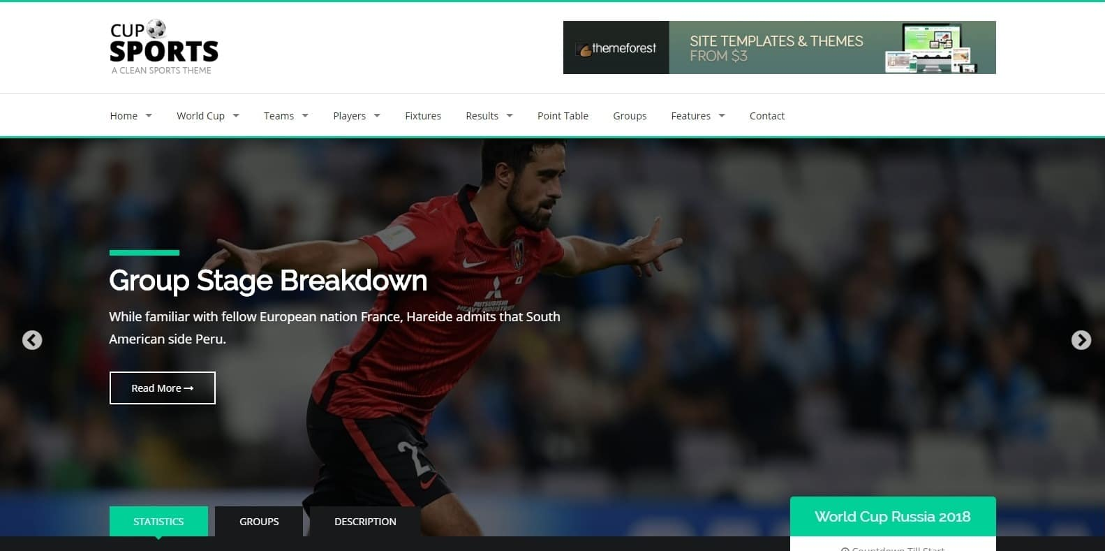 sportscup-sports-website-template