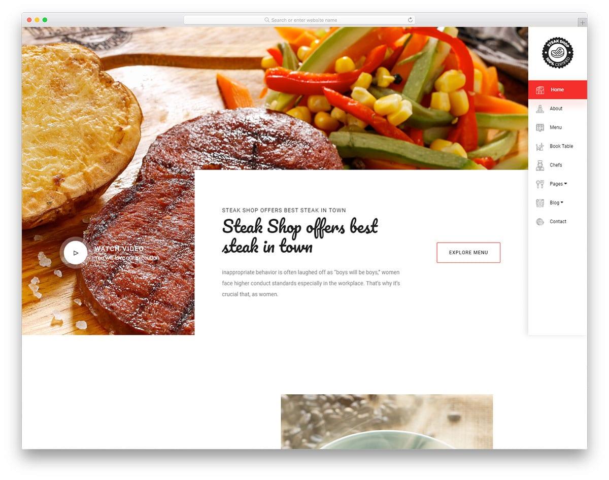 branding oriented bootstrap sidebar design