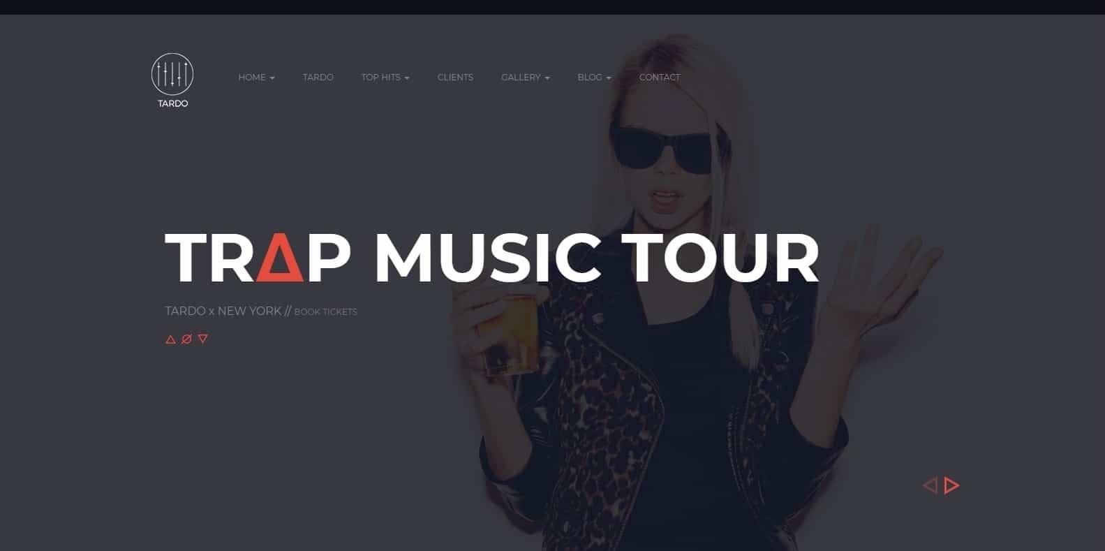 tardo-dj-website-template