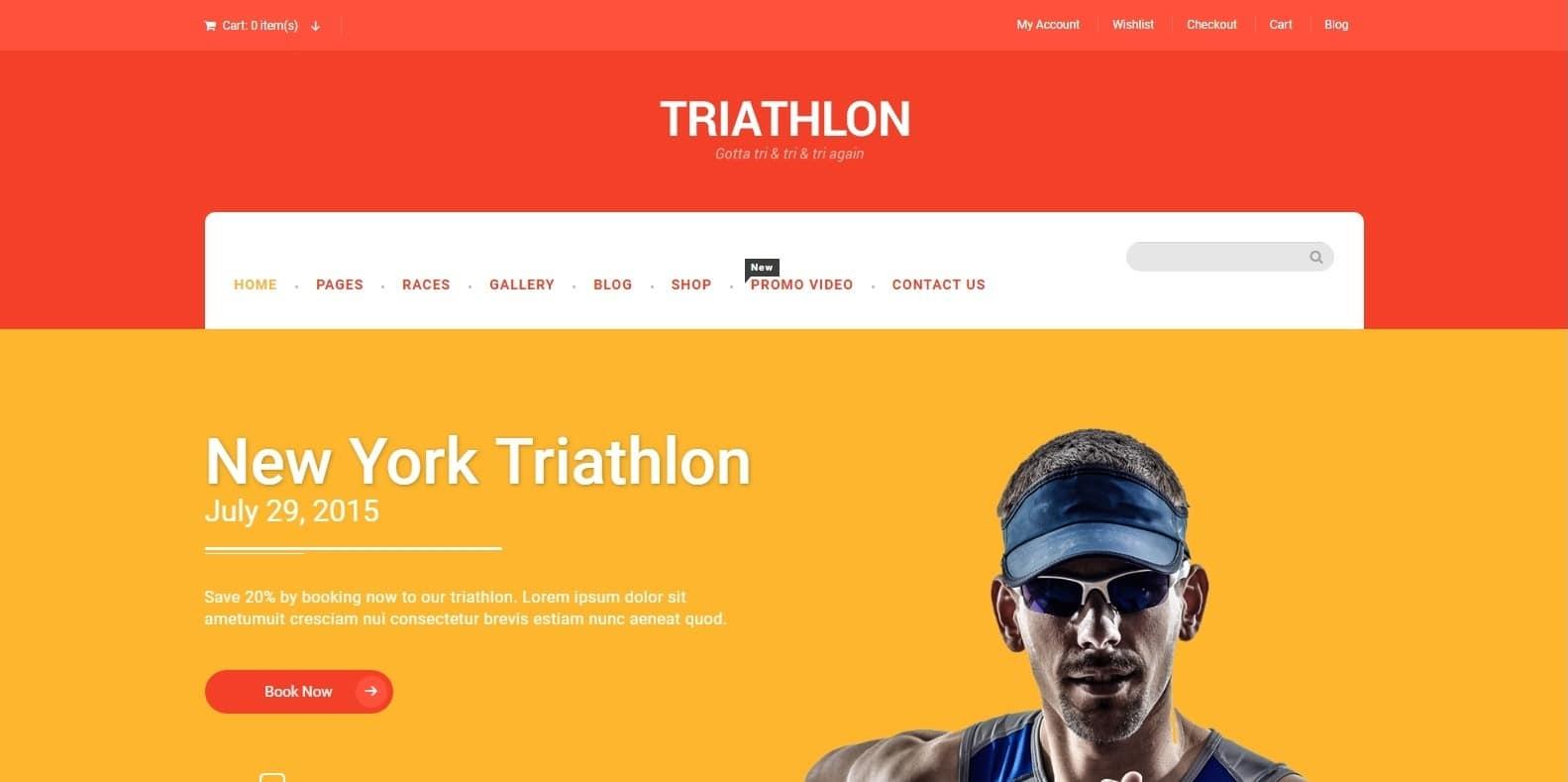 triathlon-sports-website-template