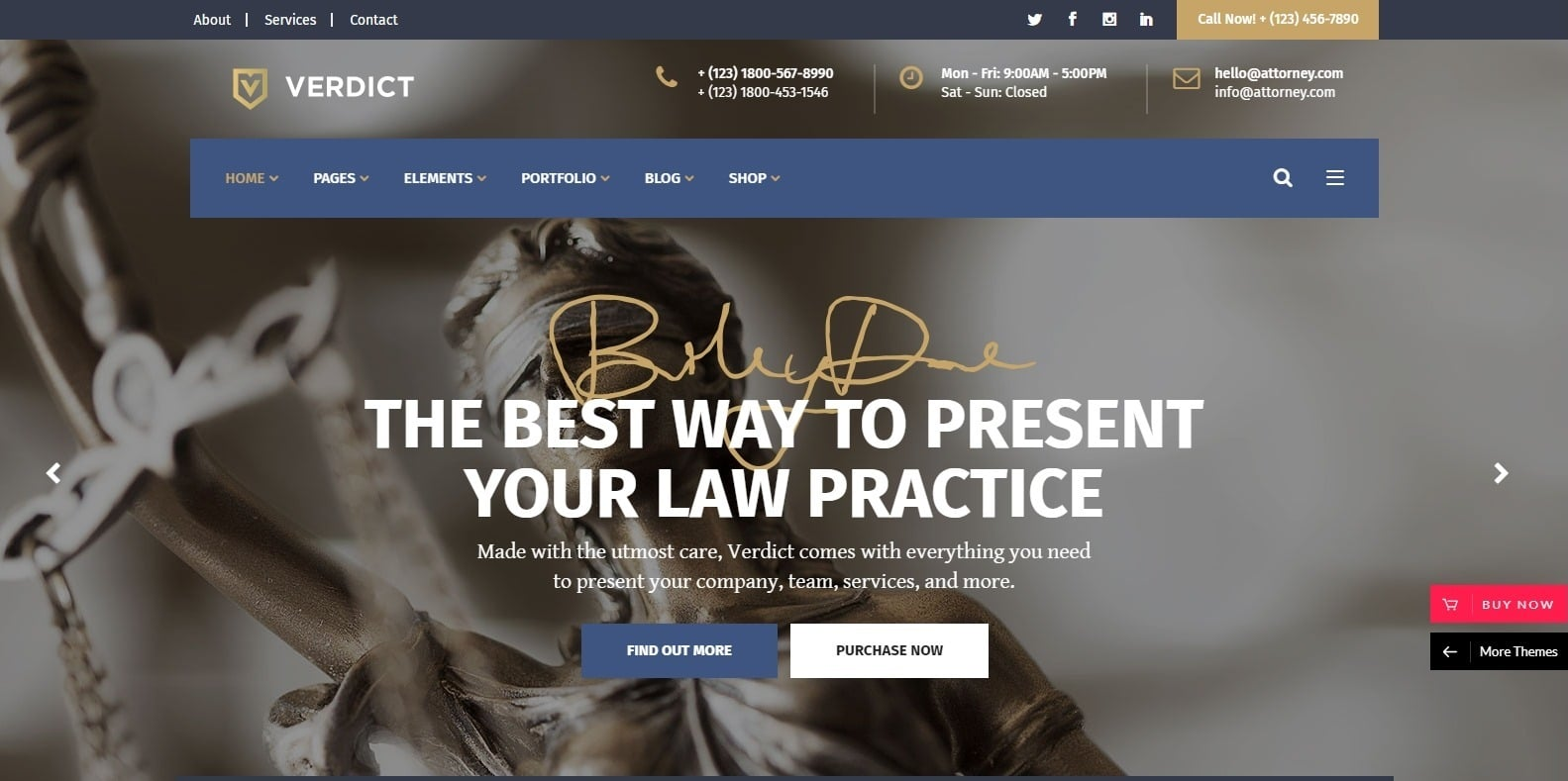 verdict-attorney-website-template