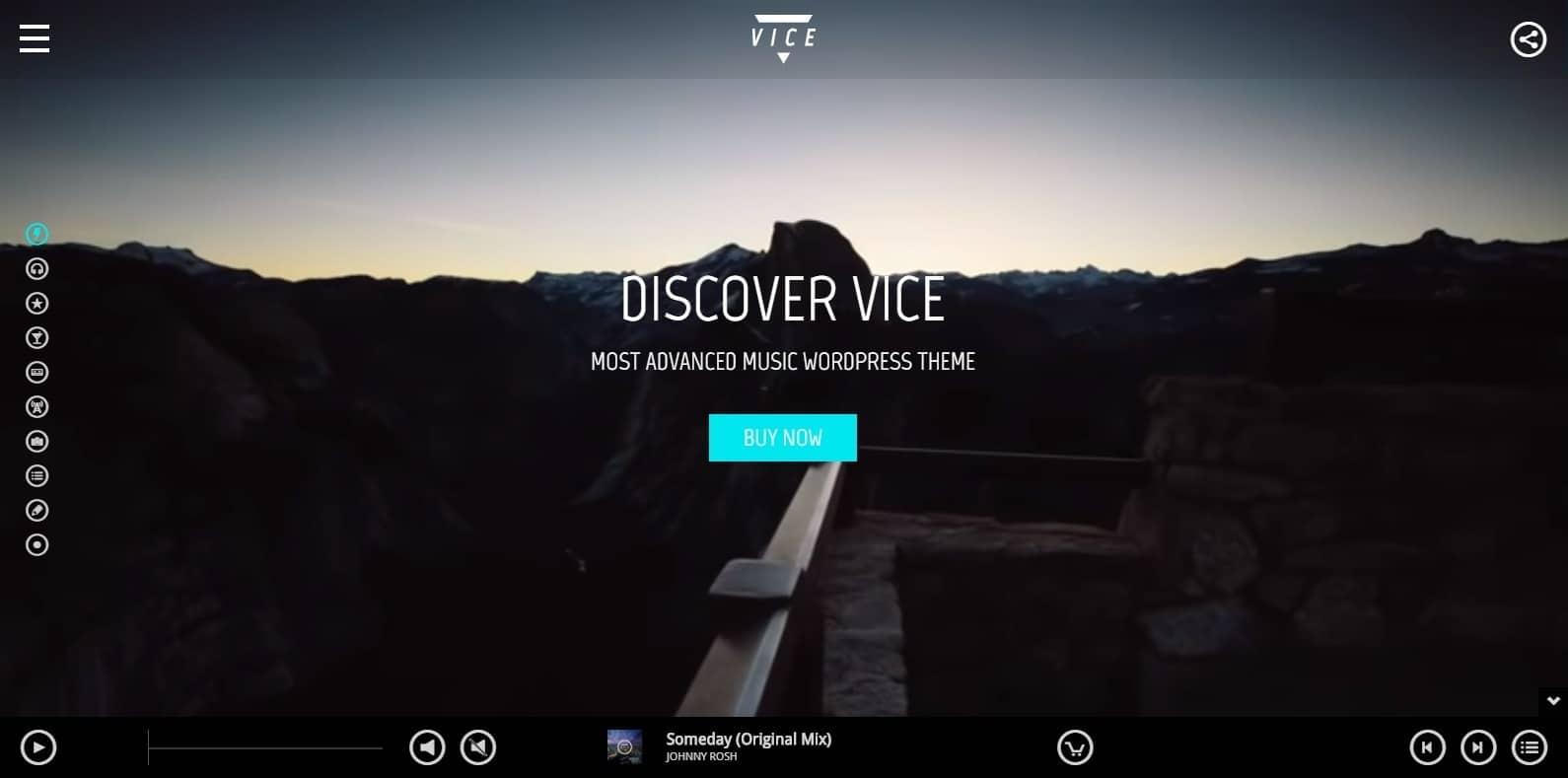 vice-dj-website-template