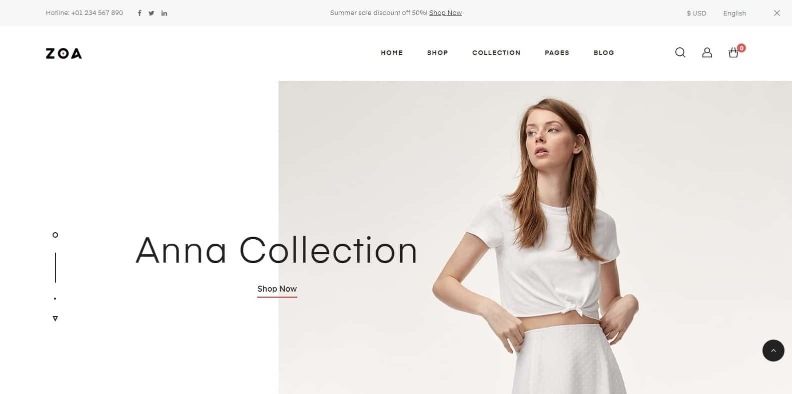 zoa-html-bookstore-website-template