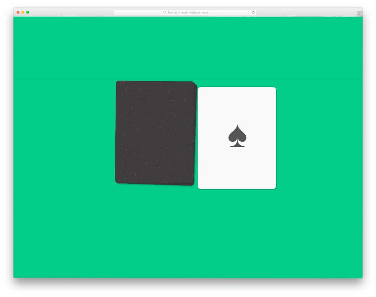 card flip animation example