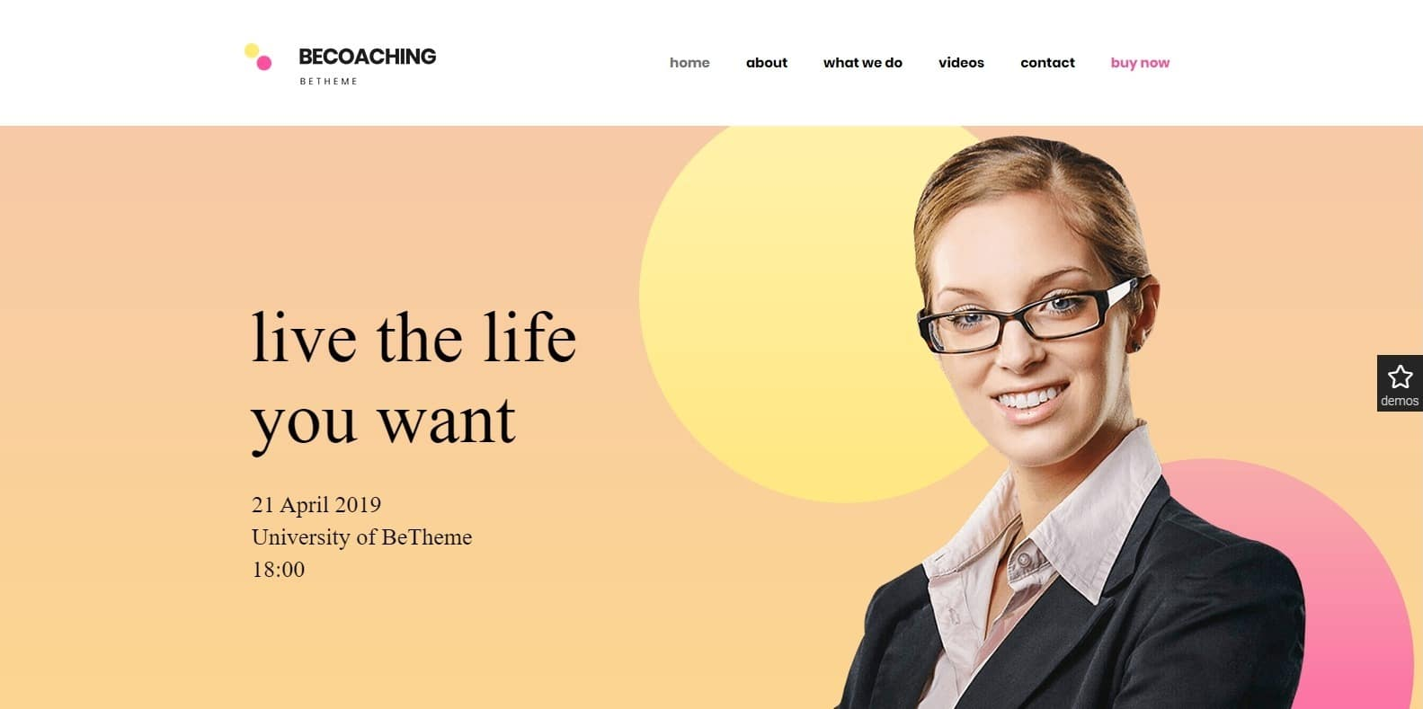 betheme-coaching-template