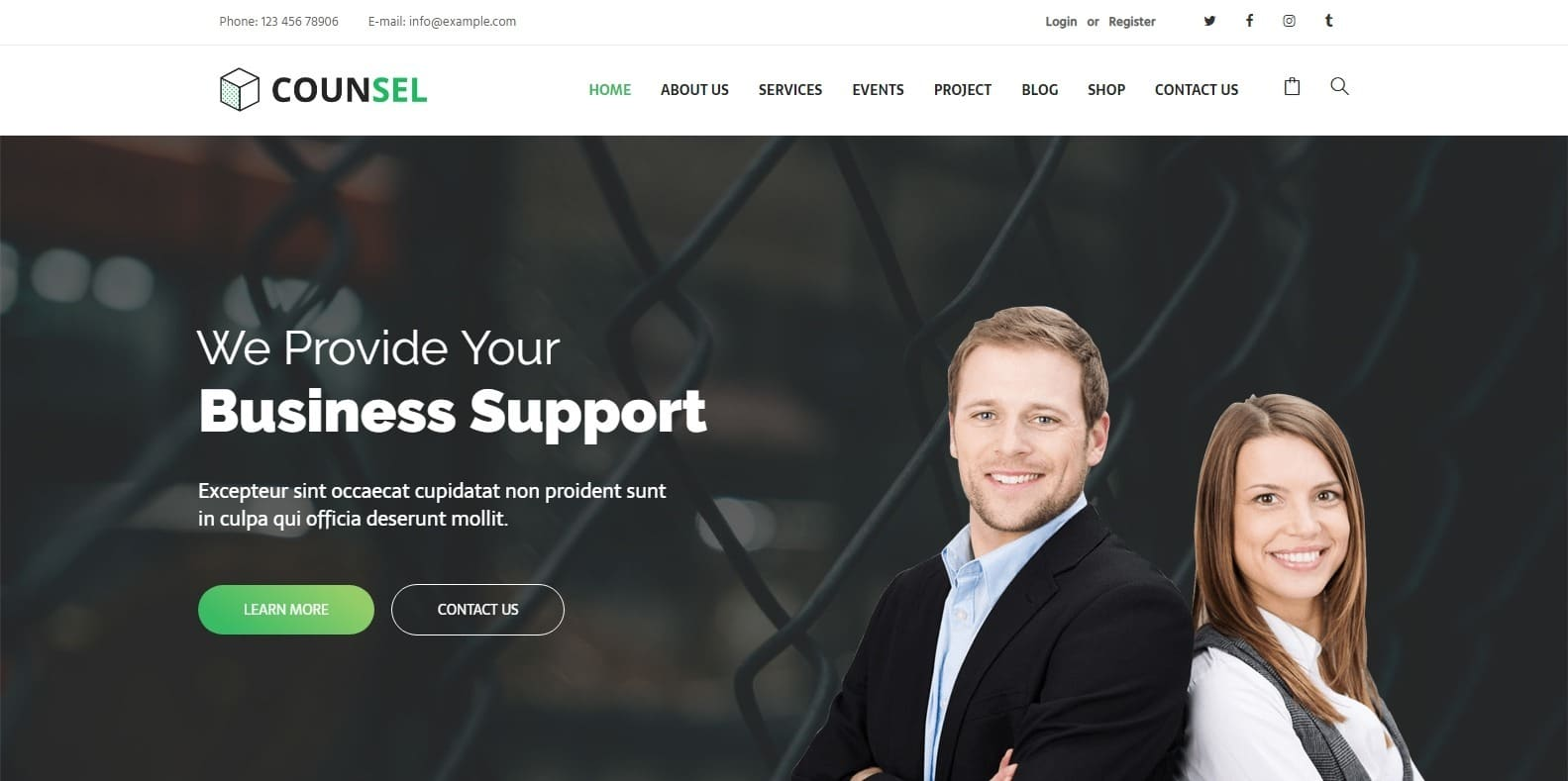 counsel-consulting-website-template