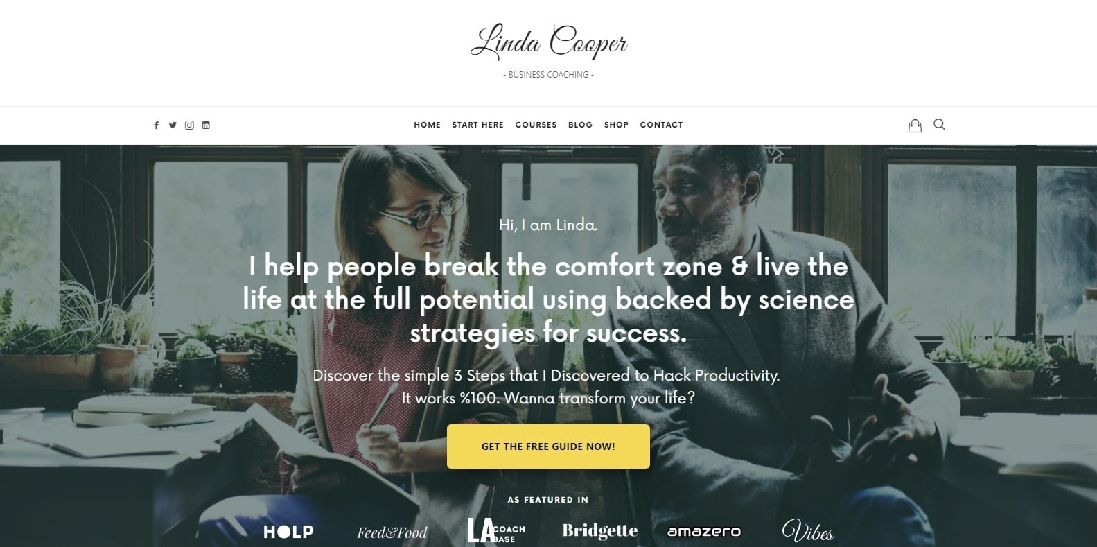 efor-coaching-website template