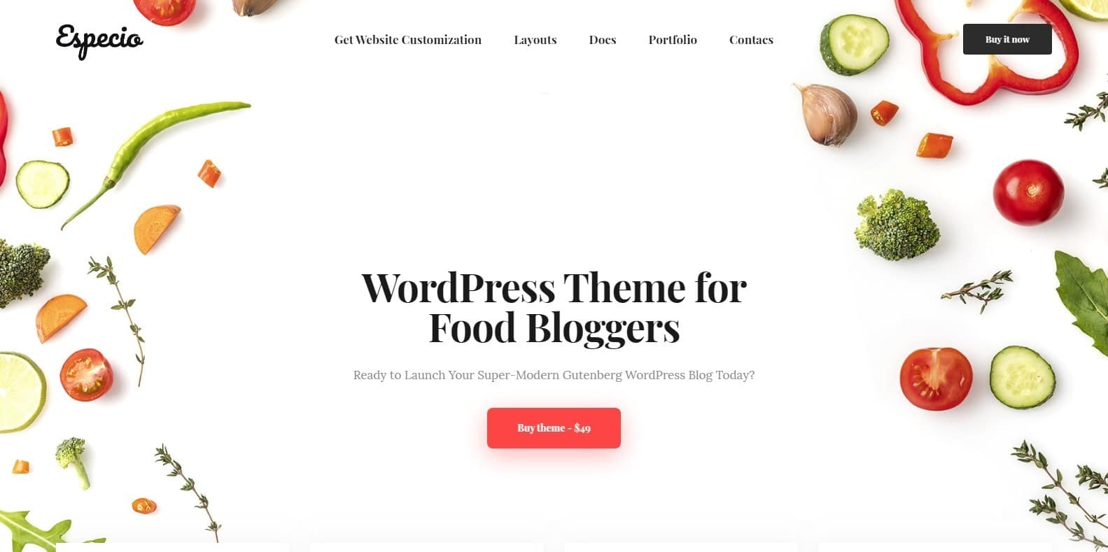 especio-food-blog-website-template-html