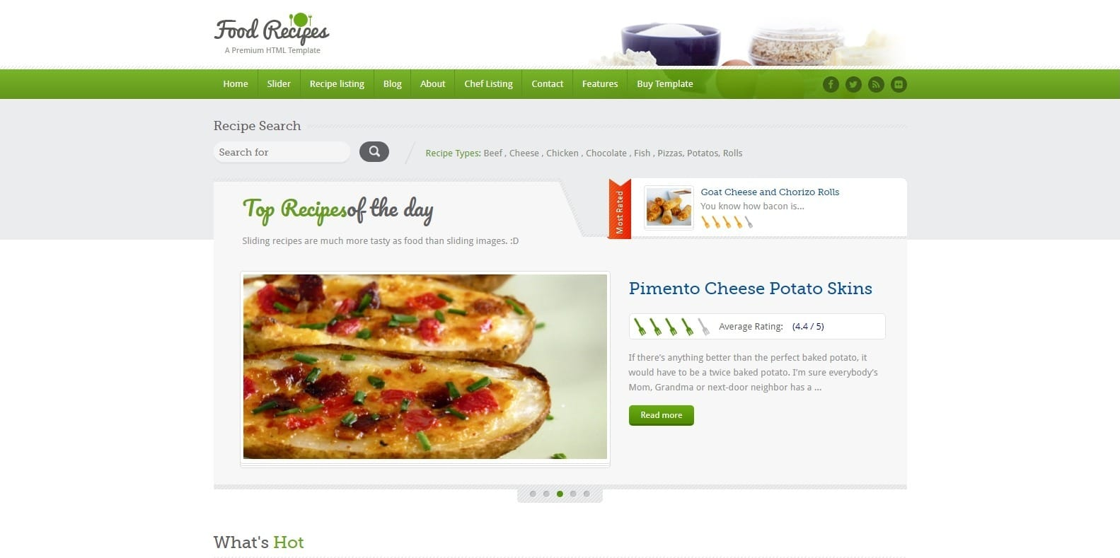 food-recipes-food-blog-website-template