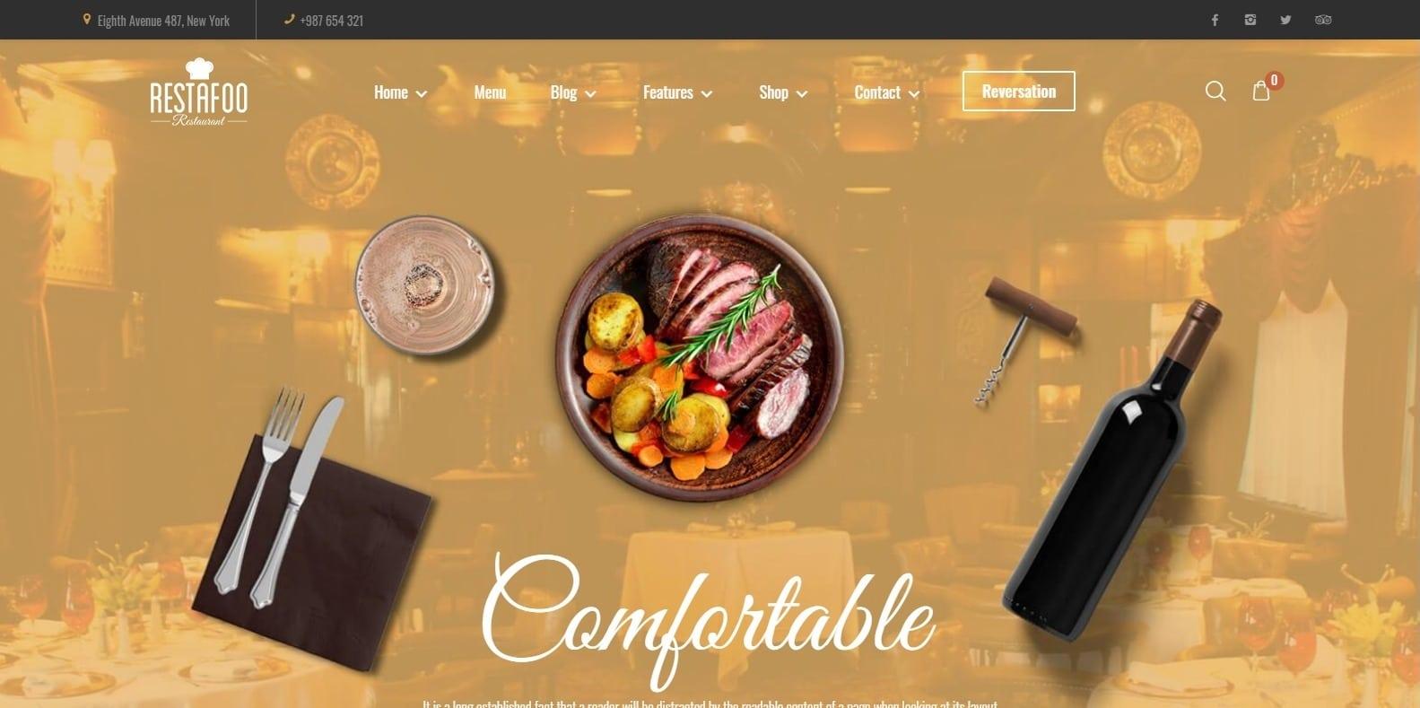 foody-restaurant-website-template