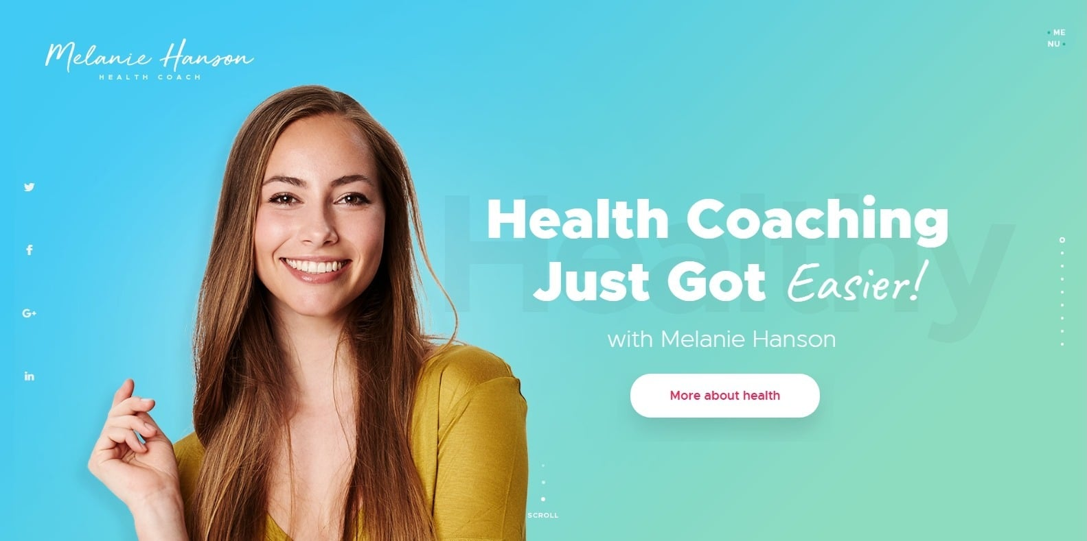 health-coach-coaching-website template