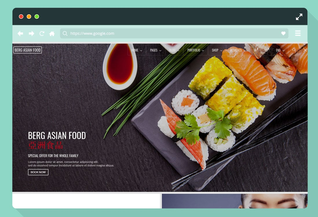 html-food-blog-website-template
